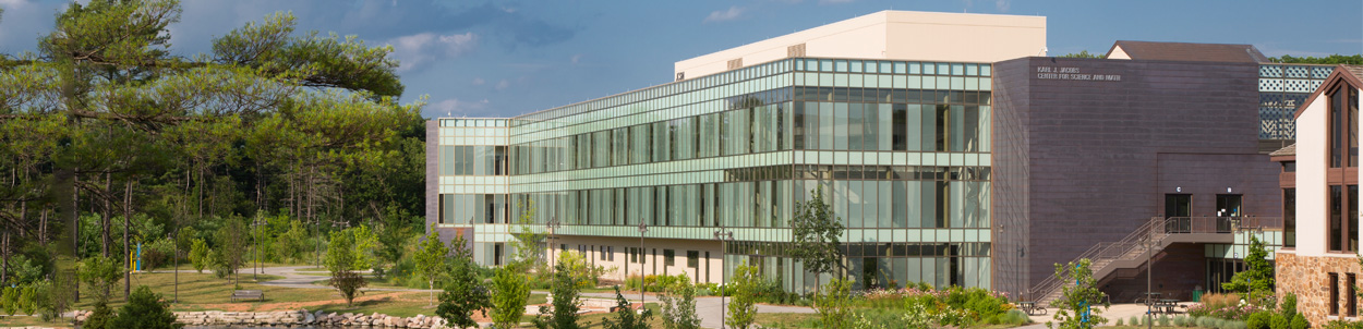 The Karl J. Jacobs Center for Science and Math (JCSM) on RVC's main campus is a LEED Gold certified building.
