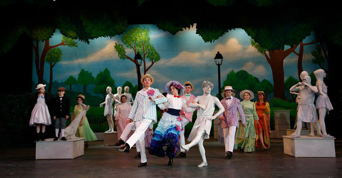 Mary Poppins, performed on the Starlight stage in the summer of 2015