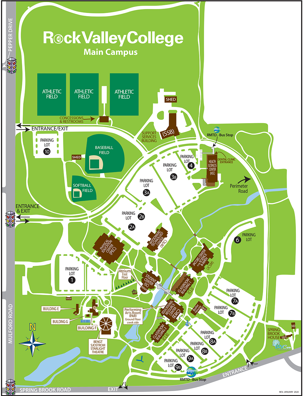 RVC Main Campus Map