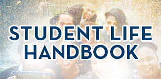 Student Life Handbook Graphic Button