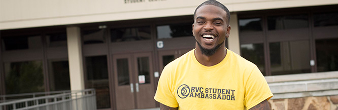Male Student Ambassador at Rock Valley College