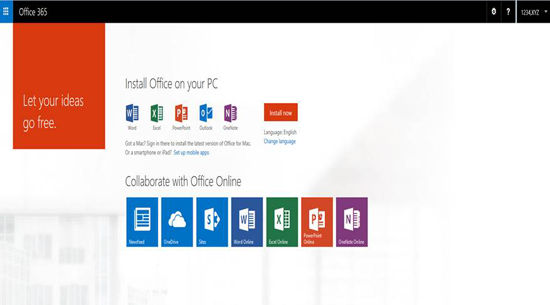 Install Office 365 for your PC