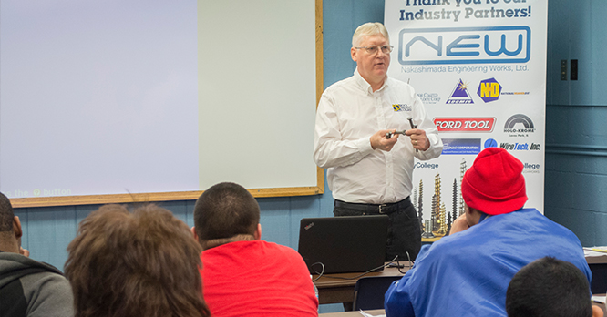 Cold Forming Training Center Classroom with Dave Booker