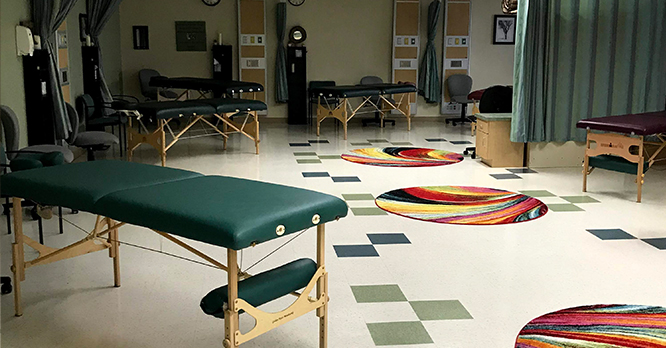 Massage Therapy Clinic Space