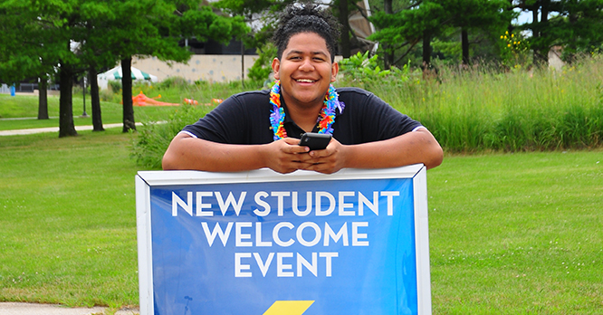 New Student Welcome Dashawn Fall 2019