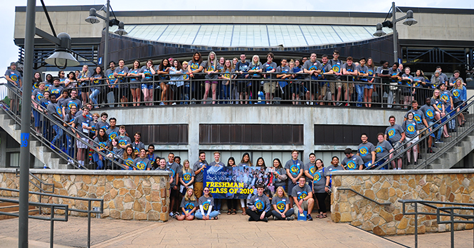 New Student Welcome Group Photo Fall 2019