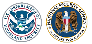 US Dept of Homeland Security and NSA Seal